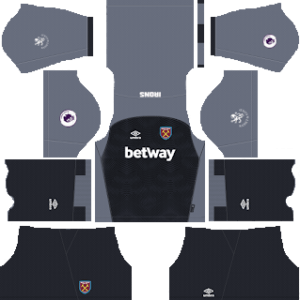 West Ham DLS Goalkeeper Home Kit