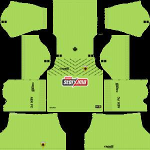 AEK FC DLS Goal Keeper Away Kit