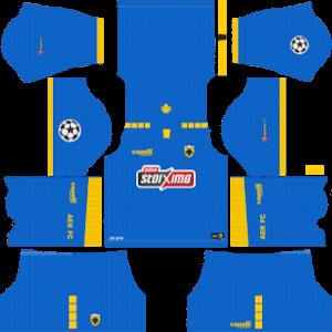 AEK FC DLS UCL Badge Third Kit