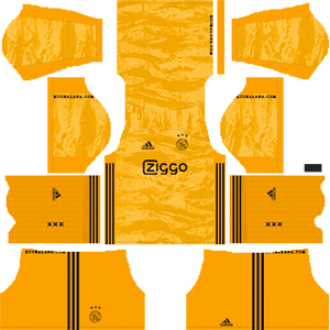 AFC Ajax DLS Goal Keeper Home Kit 2