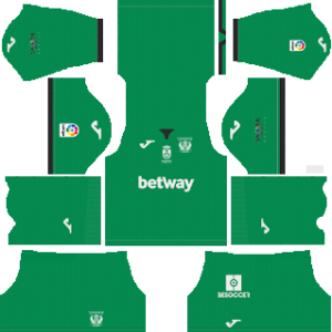 CD Leganes DLS Goal Keeper Home Kit