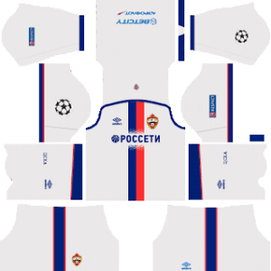 CSKA Moscow DLS Away Kit