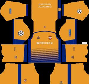 CSKA Moscow DLS Third Kit