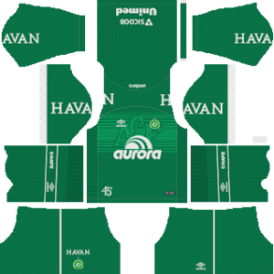 Chapecoense DLS Home Kit