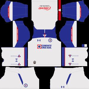 Cruz Azul DLS Away Kit