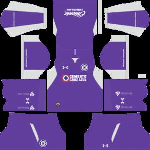Cruz Azul DLS Goal Keeper Away Kit