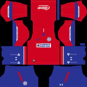 Cruz Azul DLS Third Kit