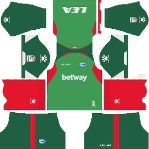 Deportivo Alavés DLS Away Kit