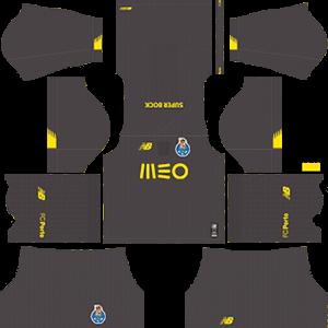 FC Porto DLS Goal Keeper Home Kit