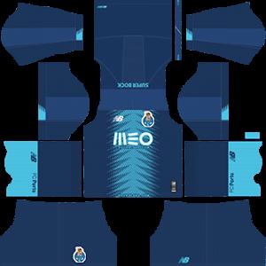 FC Porto DLS Third Kit
