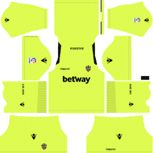Levante UD DLS Goal Keeper Away Kit