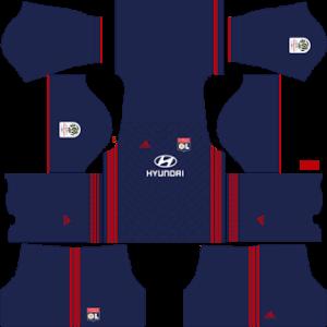 Olympique Lyonnais DLS Away Kit
