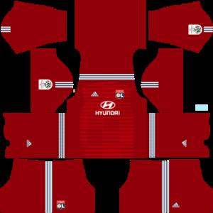 Olympique Lyonnais DLS Goal Keeper Away Kit