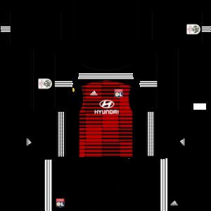 Olympique Lyonnais DLS Goal Keeper Home Kit