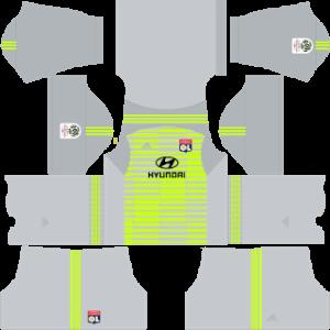 Olympique Lyonnais DLS Goal Keeper Third Kit