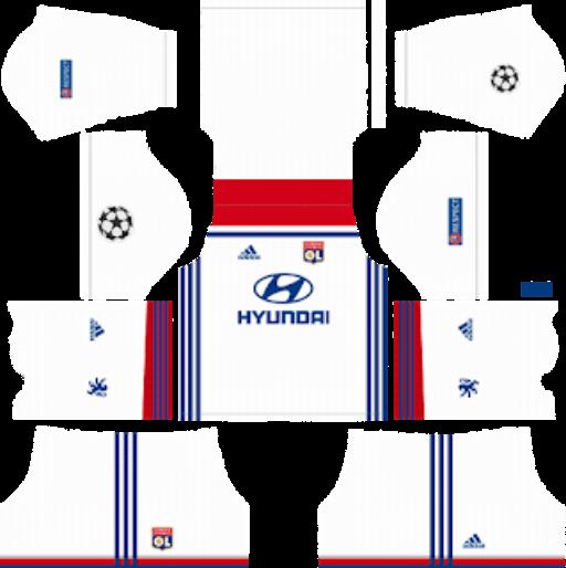 Olympique Lyonnais DLS Home Kit