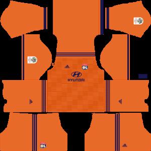 Olympique Lyonnais DLS Third Kit