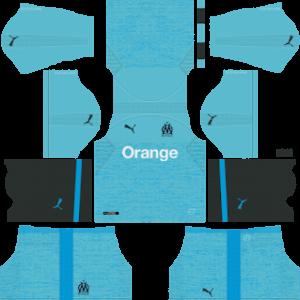 Olympique de Marseille DLS Third Kit