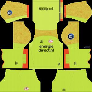 PSV Eindhoven DLS Goal Keeper Home Kit