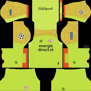 PSV Eindhoven DLS Goal Keeper ULC Home Kit