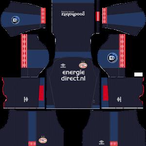 PSV Eindhoven DLS Third Kit