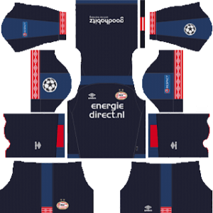 PSV Eindhoven DLS ULC Third Kit