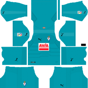 SD Eibar DLS Goal Keeper Away Kit