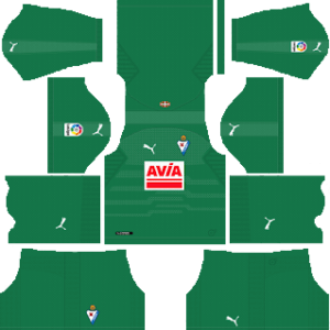 SD Eibar DLS Goal Keeper Home Kit