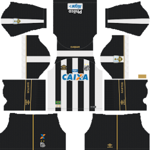 Santos FC DLS Away Kit