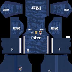 Sao Paulo FC DLS Goal Keeper Home Kit
