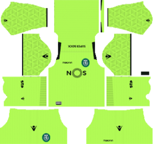 Sporting CP DLS Goal Keeper Away Kit