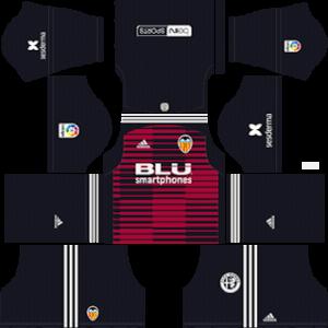 Valencia CF DLS Goal Keeper Home Kit