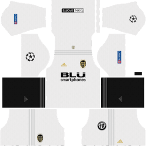 Valencia CF DLS UCL Home Kit