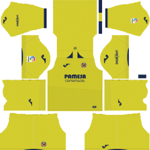 Villarreal CF DLS Home Kit