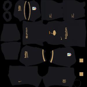 Barcelona 2021 DLS Away Kit