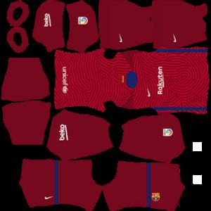Barcelona 2021 DLS GK Away Kit