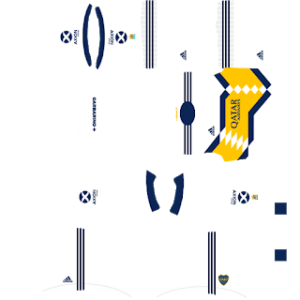 Boca Juniors 2021 DLS Away Kit