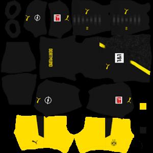 Borussia Dortmund DLS 2021 Away Kit