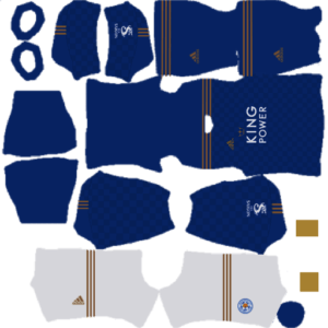 Leicester City 2021 DLS Home Kit