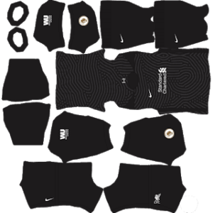 Liverpool 2021 DLS Goalkeeper Home Kit