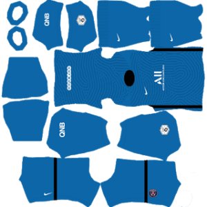 PSG 2021 DLS Goalkeeper Away Kit