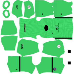 PSG 2021 DLS Goalkeeper Third Kit