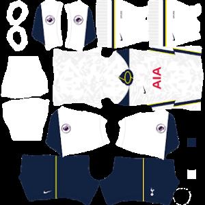Tottenham Hotspur 2021 DLS Home Kit
